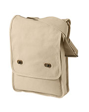 Authentic Pigment 1902 Unisex 14 Oz Canvas Field Bag at GotApparel