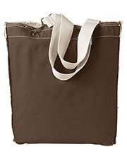 Authentic Pigment 1906 Unisex 14 Oz Rawedge Tote at GotApparel