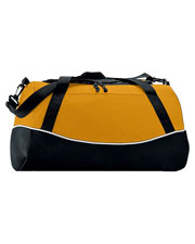 Augusta 1910 Adult Tri-Color Two Zipper Sport Bag at GotApparel