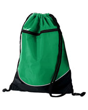 Augusta Drop Ship 1920 Tri-Color Drawstring Backpack at GotApparel