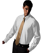 Edwards 1965 Men's Pinpoint Oxford Long-Sleeve Shirt at GotApparel