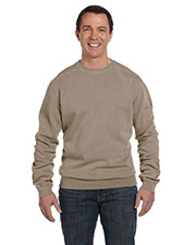 Authentic Pigment 1975 Men 11 oz. Pigt-Dyed Fleece Crew at GotApparel
