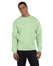 Authentic Pigment 1983 Men 10 oz. Pigt-Dyed Boxy Crew at GotApparel