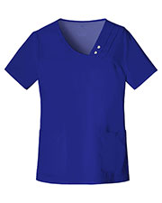 Cherokee 1999 Women Crossover V-Neck PinTuck Top at GotApparel