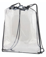Augusta 2200 Adult Clear Cinch Bag at GotApparel