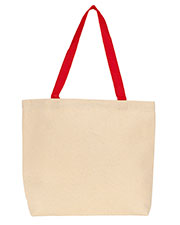 Gemline 220 Colored Handle Tote at GotApparel