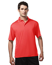 TRI-MOUNTAIN PERFORMANCE 224 Men Campus Ultracool Short Sleeve Golf Shirt at GotApparel
