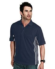 TMR 226 Men GT-2 Short Sleeve Knit Polo Shirt With Rib Collar at GotApparel