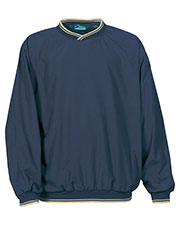 Tri-Mountain 2560 Men Microfiber Long-Sleeve Wind Shirt at GotApparel