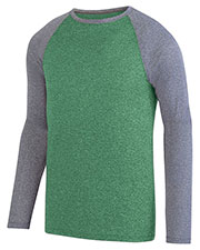 Augusta 2815  Kinergy Two Color Long Sleeve Raglan Tee at GotApparel