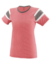 Augusta 3011 Women Fanatic Short Sleeve Tee at GotApparel