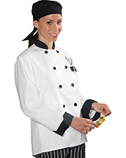 Edwards 3303 Unisex Classic Full Cut Long Sleeve Chef Coat at GotApparel