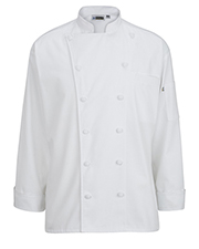 Edwards 3318  12 Cloth Button Classic Chef C at GotApparel