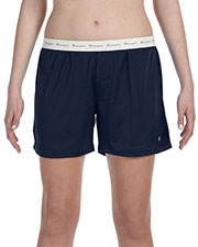 Champion 3393 Women Mesh Short at GotApparel
