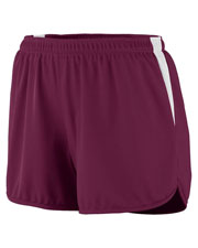 Augusta 347 Women Velocity Track Short With Drawcord at GotApparel