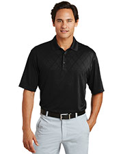 Nike 349899 Men Dri-FIT Cross-Over Texture Polo. at GotApparel