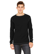 Bella + Canvas 3500 Men's Thermal Long-Sleeve T-Shirt at GotApparel