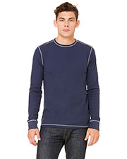 Bella + Canvas 3500 Men Thermal Long-Sleeve T-Shirt at GotApparel