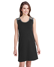 LAT 3523 Women Ladies' Racerback Tank Dress at GotApparel