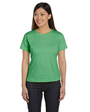 LAT 3580 Women Ringspun Scoop Neck T-Shirt at GotApparel