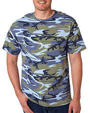 Code V 3906 Adult Camouflage T-Shirt at GotApparel