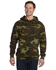 Code V 3969 L.A.T. Adult Camo Hooded Pullover at GotApparel
