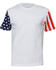 Code V 3976 Adult Stars & Stripes T-Shirt at GotApparel