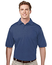 Tri-Mountain 410 Men Odyssey Ultracool Basket Knit Golf Shirt at GotApparel