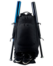 Augusta 411 Unisex Expandable Baseball Bat Backpack OneSize at GotApparel