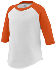 Augusta 422 Toddlers Three Quarter Sleeve Baseball Jersey at GotApparel