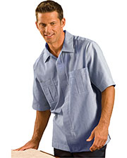 Edwards 4275 Adult Inverted Zipper Closure Cord Service Shirt at GotApparel