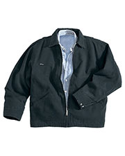 Tri-Mountain 4300 Men's Oakland Enzyme Wash Cotton Canvas Work Jacket at GotApparel