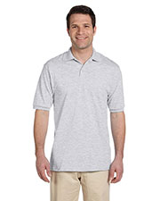 Jerzees 437 Men 5.6 oz., 50/50 Jersey Polo with SpotShield at GotApparel