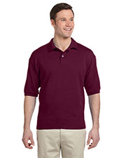 Jerzees 438 Men 50/50 Pique Polo W/Spotshield at GotApparel