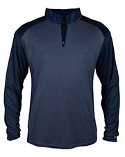 Badger 4394  Sport Pro Heather 1/4 Zip at GotApparel