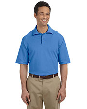 Jerzees 440 Men 6.5 oz. Ringspun Cotton Pique Polo at GotApparel