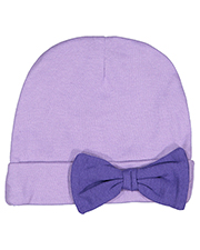 Rabbit Skins 4453 Toddler Infant Baby Rib Bow Cap at GotApparel