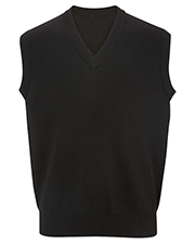 Edwards 4701  V-Neck Cotton Sweater Vest at GotApparel