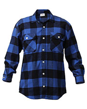 Rothco 4739 Men Extra Heavyweight Buffalo Plaid Flannel Shirts at GotApparel