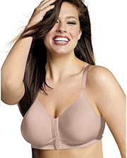 Playtex 4930 Women 18 Hour Sensationally Sleek FrontClose Wirefree Bra at GotApparel