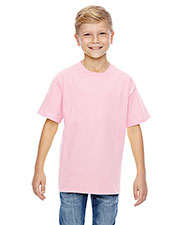 Hanes 498Y Boys 4.5 Oz. 100% Ringspun Cotton Nano-T  T-Shirt at GotApparel