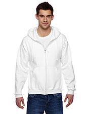 Jerzees 4999 Men 9.5 oz., 50/50 Super Sweats NuBlend Fleece Full Zip Hood at GotApparel
