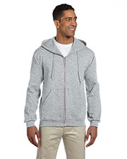 Jerzees 4999 Men 9.5 Oz. 50/50 Super Sweats Nublend Fleece Full-Zip Hood at GotApparel