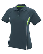 Augusta 5024 Women's Rival Sport Polo Shirt with Contrast Inserts at GotApparel