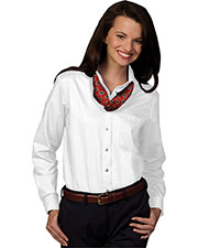Edwards 5077 Women's Easy Care Long-Sleeve Oxford Dress Shirt at GotApparel