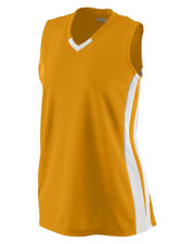 Augusta 528 Girls Wicking Mesh Powerhouse Jersey at GotApparel