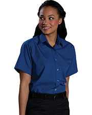 Edwards 5313 Women Short Sleeve Broadcloth Shirt at GotApparel