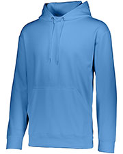 Augusta 5506 Boys Wicking Long Sleeve Warmup Fleece Hood Sweatshirt at GotApparel