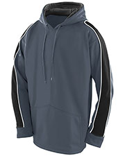 Augusta 5524 Boys' Zest Fleece Hoody at GotApparel