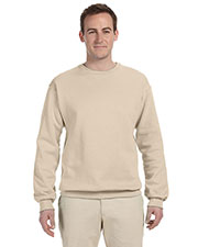 Jerzees 562 Men 8 oz., 50/50 NuBlend Fleece Crew at GotApparel